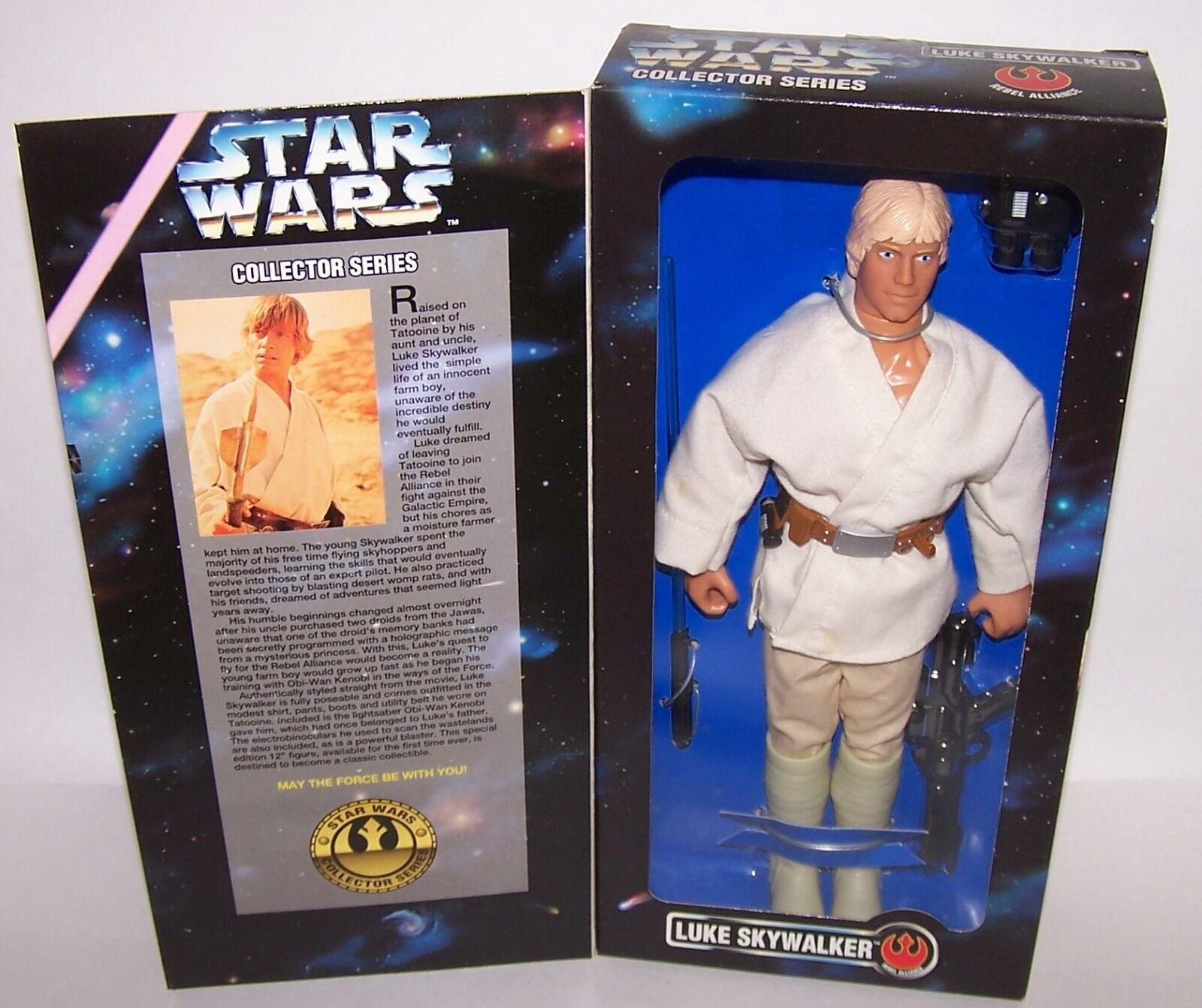 Star Wars Luke Skywalker 12  Action Figure Doll Kenner 1996 NIB