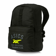 ASICS  TRAINING BACKPACK, IDEAL FOR TENNIS GYM, TRAVEL  BLACK YELLOW