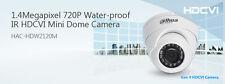 1Megapixel 720P Water-proof Ir HDCVI Mini Dome Surveillance Camera