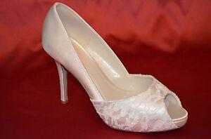 newest 37394 55525 Details zu SALE* BRAUTSCHUHE Pink by paradox spitze Abendschuhe Pumps Gr.38  Hochzeit ivory