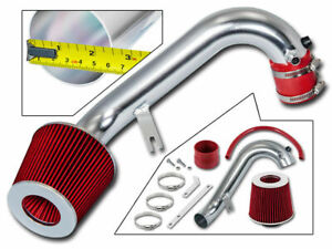 """RED Short Ram Air Intake Filter 2001 2002 2003 2004 2005 Accent 1.6L L4 3/"""""""