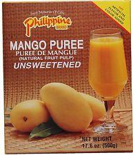 reines Mango Püree 500g ungesüßt Fruchtmark mangopüree puree natur mangomark
