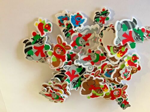 See Listings Shapes Series 5 Pack of 50 Foam Stickers Easter and Christmas