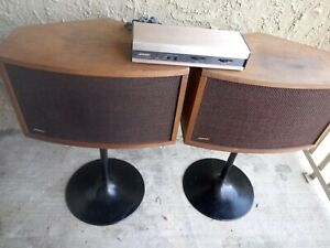 Bose 901 Series IV Speakers + Tulip Stands + Equalizer - Tested !!!