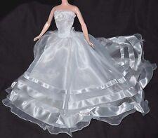 DRESS ONLY ~ SILKSTONE BARBIE DOLL MILLENNIUM WEDDING WHITE STRAPLESS BRIDE GOWN