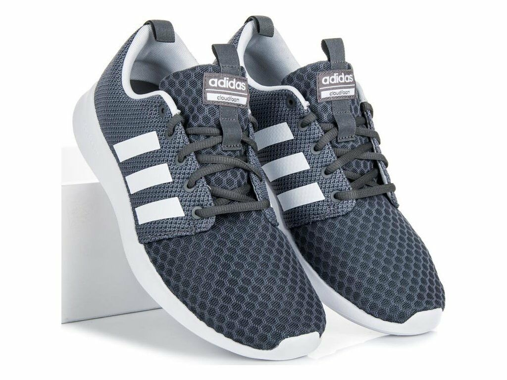 Adidas Men's Cloudfoam Swift Racer RUNNING Training shoe Gray All sizes DB0676