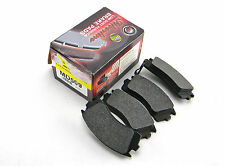 SET OF 4 NEW SILVERLINE UBP MD509 FRONT LOW DUST FORMULA BRAKE PADS MADE IN USA
