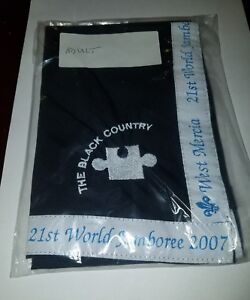21ST-World-Scout-Jamboree-The-Black-Country-Youth-Size-Neckerchief-UK-2007-WSJ