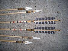 Bone Indian Arrows Arrow of Light Boy Scouts Award Primitive archery Painted