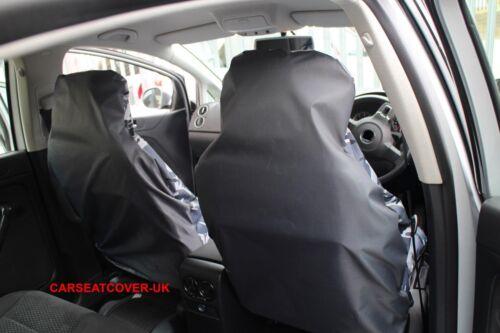 Grey Camouflage Waterproof Van Seat Covers Fiat Doblo Cargo 2 x Fronts