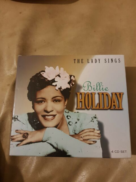 Billie Holiday - The Lady Sings - PROPERBOX26 4CD Album