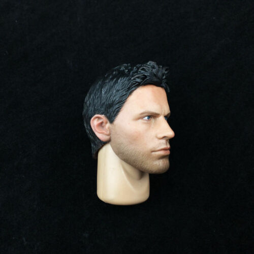 """1//6 STARS Chris Head W//Neck Resident Evil Fit 12/"""" Strong Male Figure Toys"""