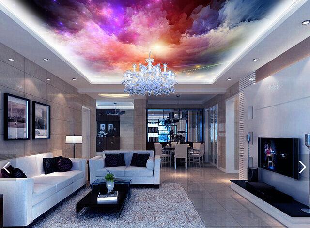 3D Wolken und Sterne 40943 Fototapeten Wandbild Fototapete BildTapete Familie DE