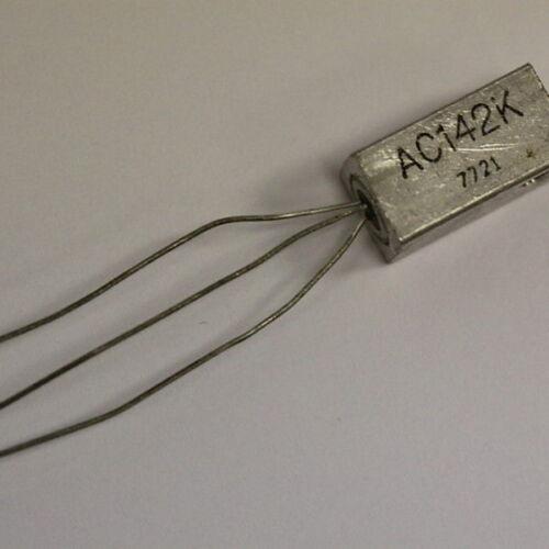 5PCS /'/'UK COMPANY SINCE1983 NIKKO/'/' AC142K TRANSISTOR LOT OF 5