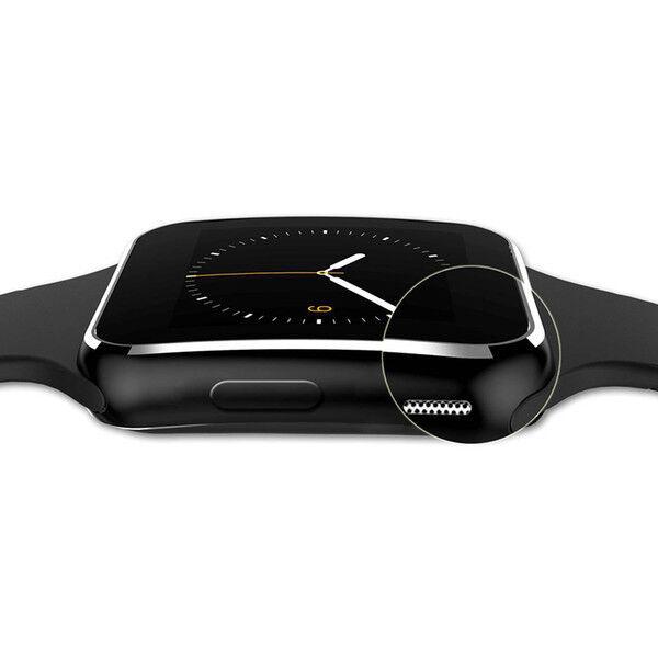 X6 NUOVO Bluetooth Smart Watch con slot per Xiaomi Redmi Note 7 NERO