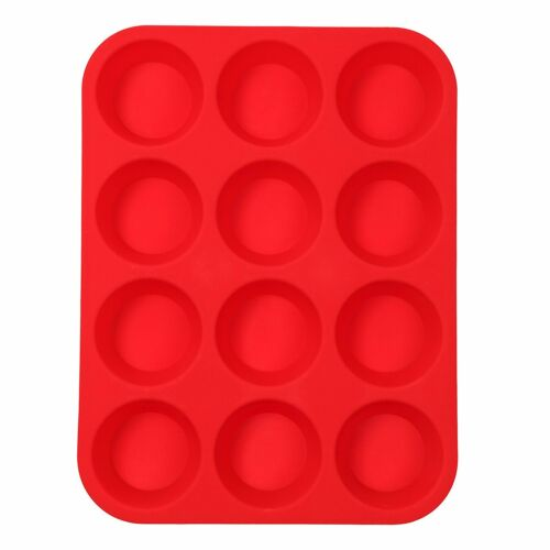 Silicone Donut Mould Muffin Cupcake NonStick Doughnut Mold Baking Waffle PanTray