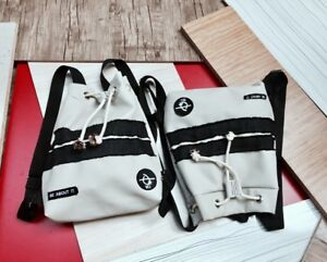 WJ-Africa-Men-Women-White-And-Black-Leather-Backpack-School-Drawstring-Adidas