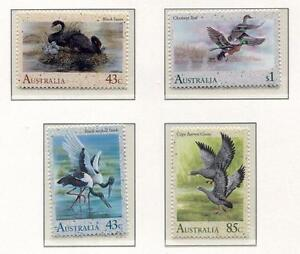 40168) Australia 1991 MNH Water Birds 4v