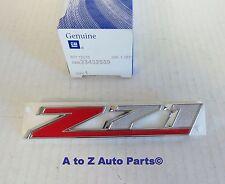 OEM New Stlye Z71 Tailgate /& C-Pillar Emblem Silverado Tahoe New Style 23469243
