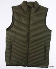 NIKE Mens sz Small Cascade Down Fill Vest Jacket Lightweight Warm Breathable NEW