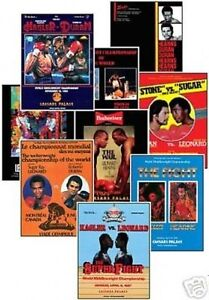 Middleweight-Greats-Program-Cover-Trading-Card-Set