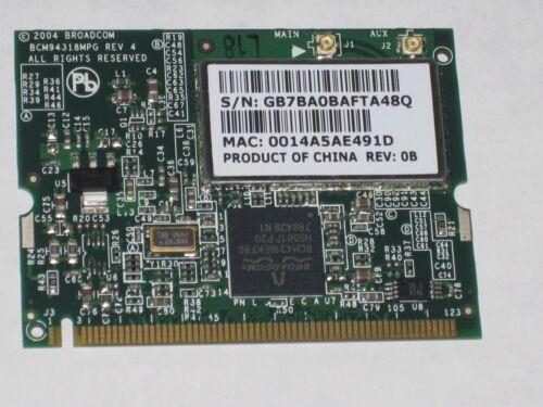 411941-001 NEW  HP Broadcom 54g 802.11g WLAN Mini PCI Card