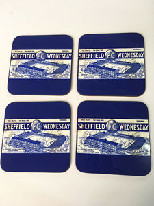 Sheffield-Wednesday-programme-collectors-1930s-Vintage-COASTER-SET