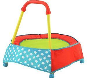 Chad-Valley-Indoor-Kid-039-s-Toddler-Trampoline-Blue-Children-To-Encourage-Active