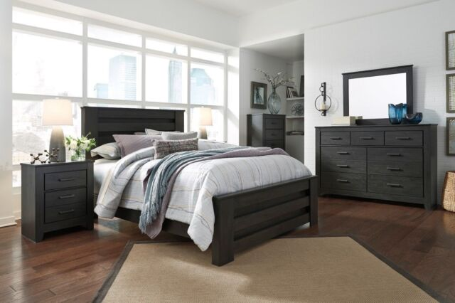Ashley Furniture Brinxton 6 Piece Queen Bedroom Set for sale online ...