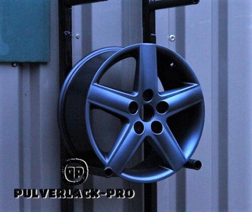 Powder Coating Paint Powder Paint CFX-Pro Gunmetal Effect Metallic Matt 1kg