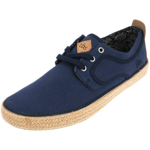 Neuf Chaussures basses toile Tbs Restart bleu toile Bleu 54810
