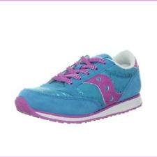 Saucony Jazz Toddler  Girls Glitter Sneaker Purple// Pink Size 5 Uk 4.5 Eur 21