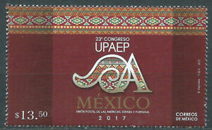 Mexico Mail 2017 Yvert 3056 MNH 23 Congreso Upaep