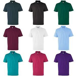 RTXtra-Mens-Pique-Knit-Classic-Short-Sleeve-Plain-Basic-Polo-Shirt-RW1306