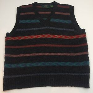 1ce4e741a31474 Habersham Road Wool Sweater Vest Mens Large Made In England G7 | eBay