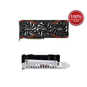 GIGABYTE-GV-NP104D5X-4G-NVIDIA-P104-100-PCI-E1-1-Video-Graphics-Card-REV-1-0