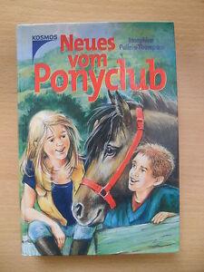 Josephine-Pullein-Thompson-034-Neues-vom-Ponyclub-034-Dreifachband-Pferdebuch