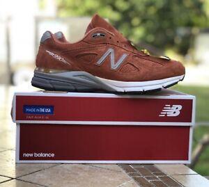 New-Balance-990V4-Running-Shoes-Jupiter-034-Burnt-Orange-034-M990JP4-Men-039-s-Size-8-5