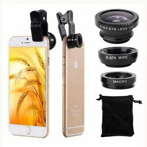 Handy-Linse-Smratphone-Objektiv-Handy-Kamera-Objektiv-Set