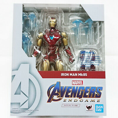 Figuarts Avengers End Game Iron Man Mk85 Action Figure from Japan Bandai S.H
