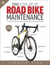Zinn & the Art of Road Bike Maintenance Book~Worlds Best for bicycle Repair~NEW!