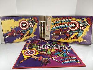 1977 CAPTAIN AMERICA Milton Bradley 4803 Board Game Complete