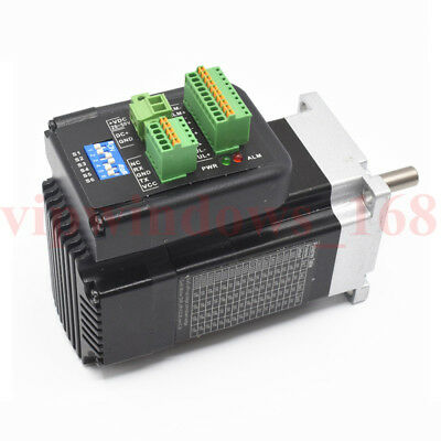 140W 3000rpm 0.32N.m NEMA23 Brushless DC servo motor driver kit 36VDC 1000 line