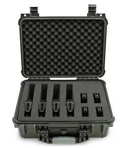 CM-16-034-4-Multiple-Pistol-Case-for-4-Handguns-and-Accessories-Case-Only