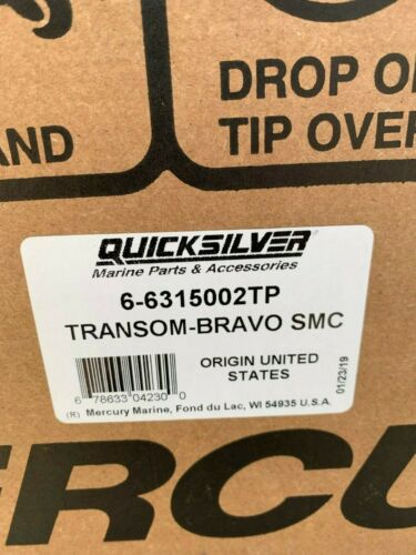 New OEM MerCruiser Bravo Smart Craft Transom Assembly Gimbal Housing 6-6315002TP
