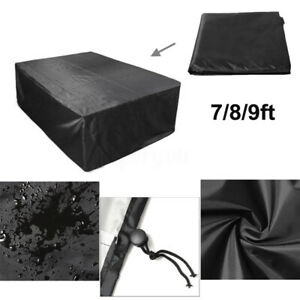 7-8-9ft-Polyester-Waterproof-Fabric-Outdoor-Pool-Snooker-Billiard-Table-Cover