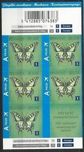 Belgium**BUTTERFLY Swallowtail/Machaon-Booklet 5vals-PAPILLONS-2012-VLINDERS