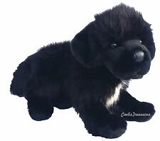 "Douglas Bundy NEWFOUNDLAND 16"" Plush Stuffed Black Puppy Dog Cuddle Toy NEW"