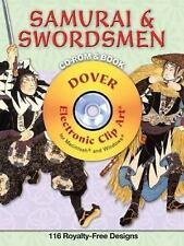 Samurai and Swordsmen CD-ROM and Book Dover Electronic Clip Art