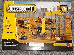 Construction Site BricTek Building Block Construction Toy Brick 14005